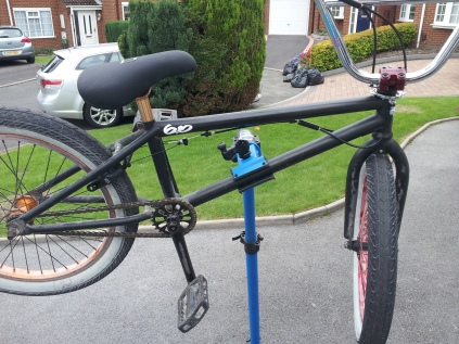 BMX - gyro fitted