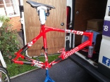 BMC Frame to be built up with Ultegra 6800 11speed, Mobile Bike Repair, Sutton Coldfield, Tamworth, Birmingham, Mobile Shop