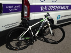 Boardman Hardtail MTB Mobile Bike Repair, Sutton Coldfield, Tamworth, Birmingham, Mobile Shop
