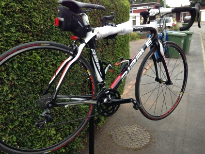Ribble Road bike in for a gear service, Mobile Bike Repair, Sutton Coldfield, Tamworth, Birmingham, Mobile Shop
