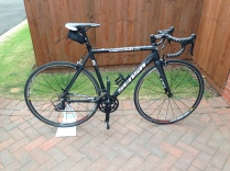 Sense Road bike for a first service,Mobile Bike Repair, Sutton Coldfield, Tamworth, Birmingham, Mobile Shop