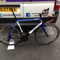 Dolan Bike Build, Shimano Groupset, Mobile Bike Repair, Sutton Coldfield, Tamworth, Birmingham, Mobile Shop